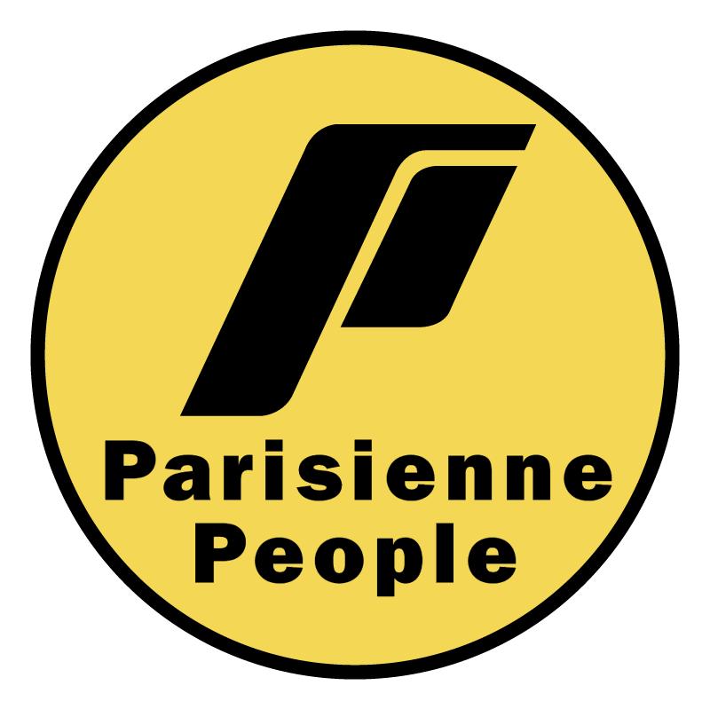 Parisienne People vector logo