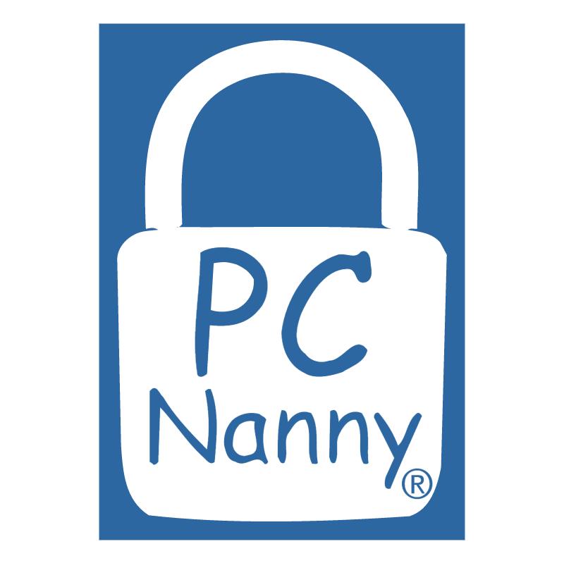 PC Nanny vector logo