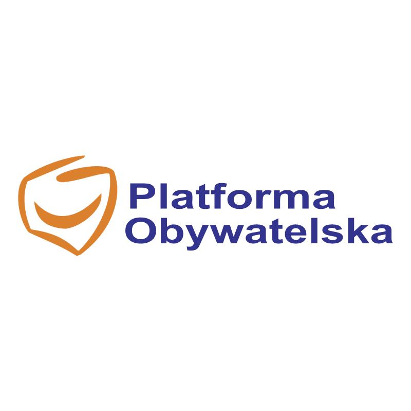 Platforma Obywatelska vector