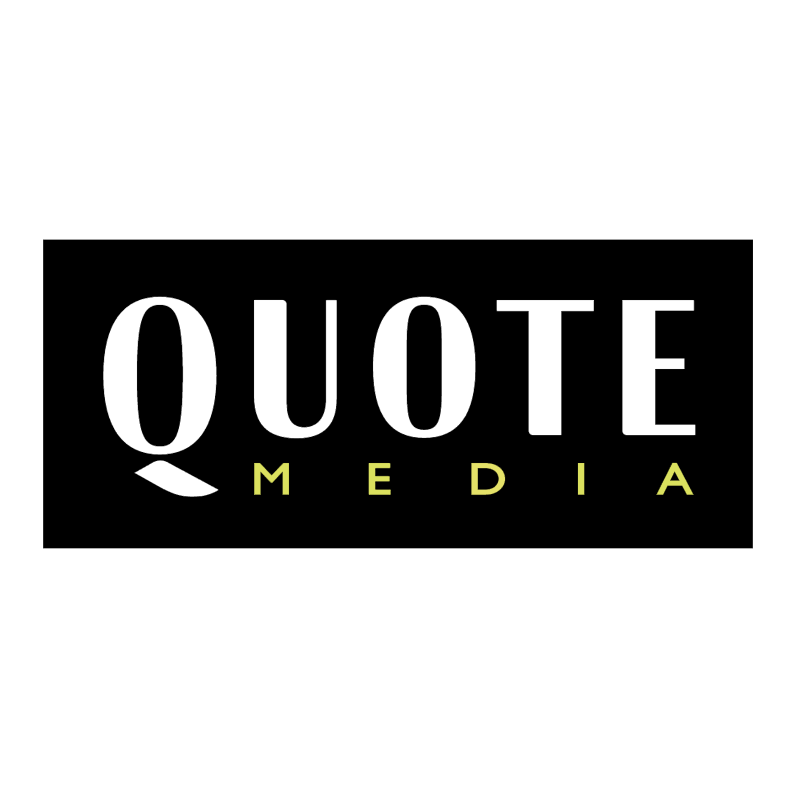 Quote Media vector