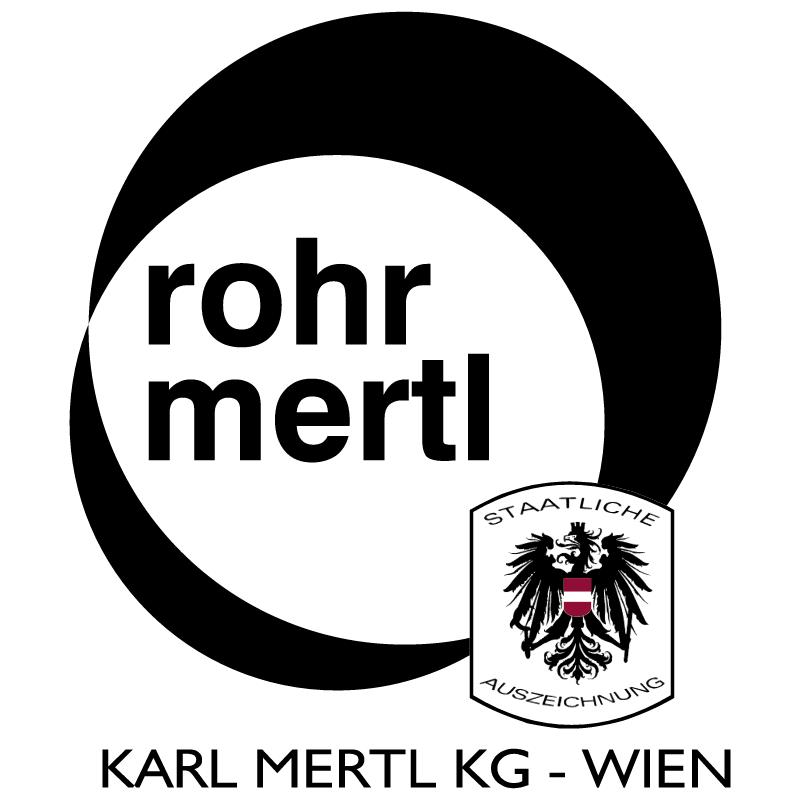 Rohr Mertl vector logo