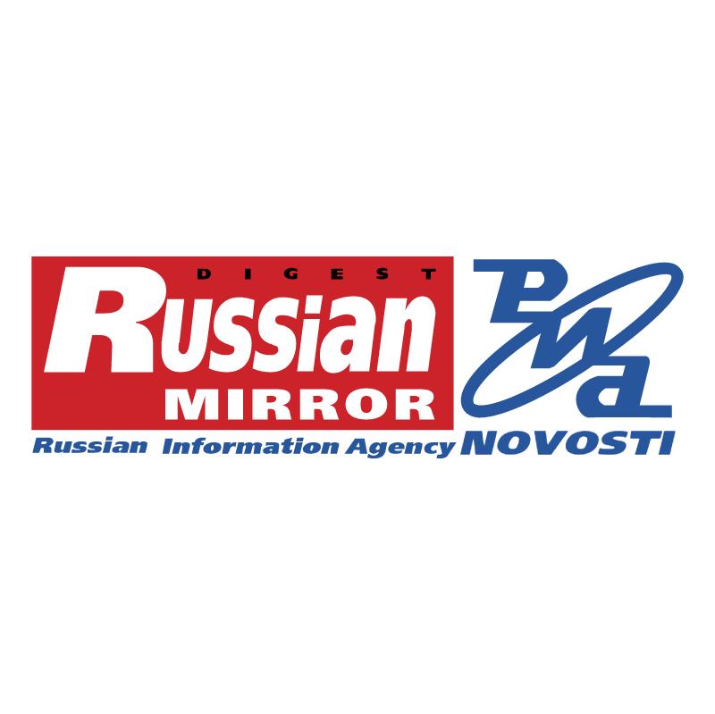 Russian Mirror vector logo