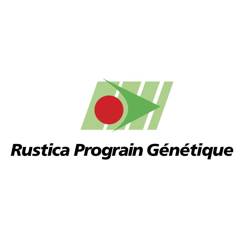 Rustica Prograin Genetique vector logo