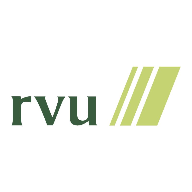 RVU vector logo