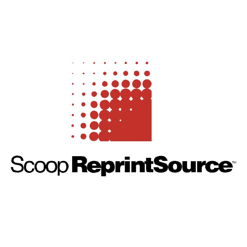 Scoop Reprint Source vector