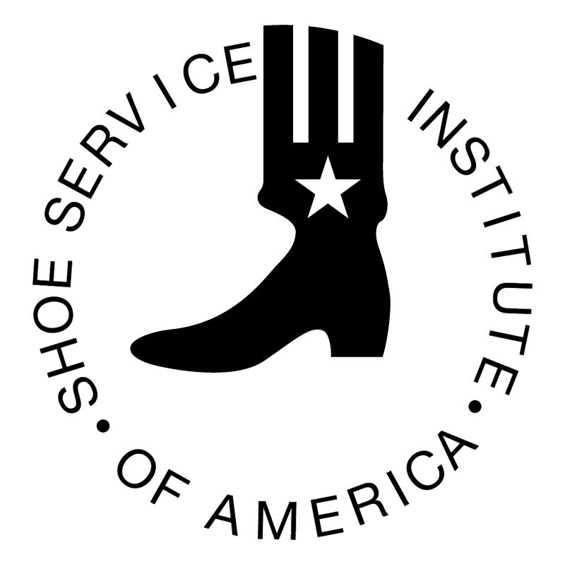 Shoe Service Institute of America vector logo