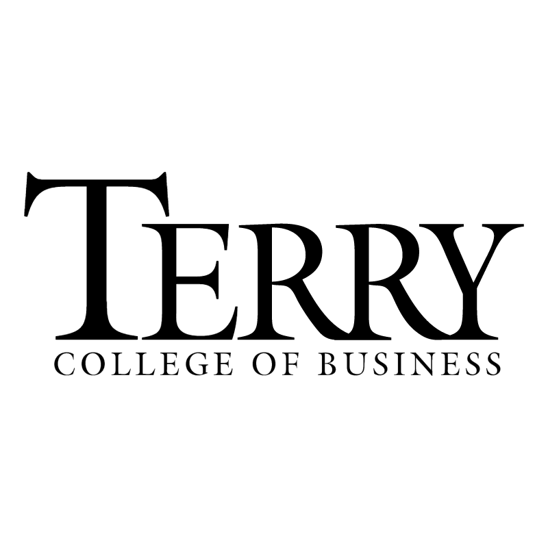 Terry College Of Business vector