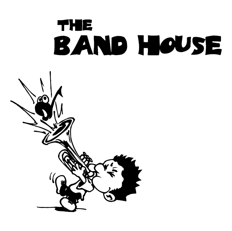 The Band House vector