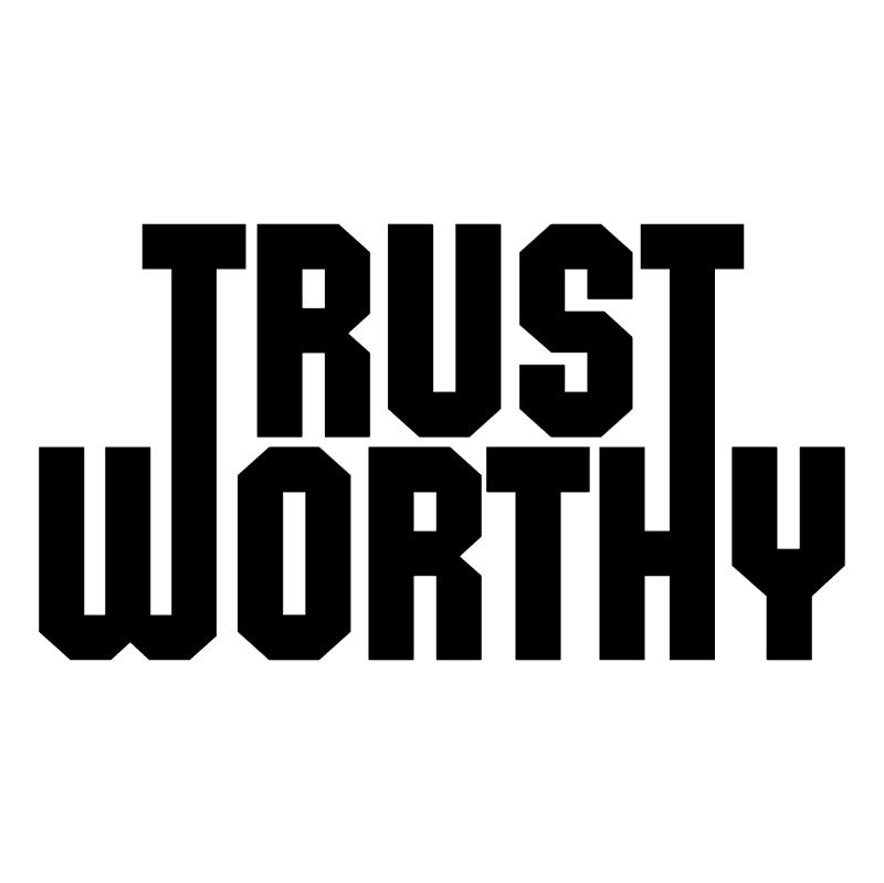 Trust Worthy vector