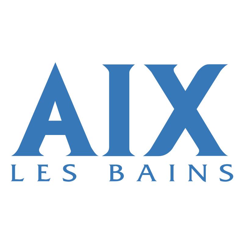 Ville Aix Les Bains vector