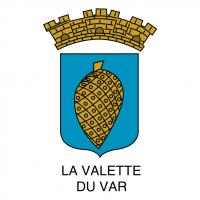 Ville de La Valette vector