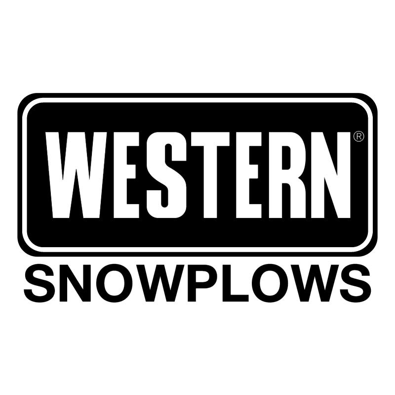Western Snowplows vector logo