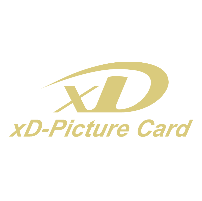 xD Picture Card vector logo