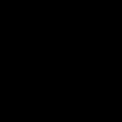 Irregular shape shield vector logo