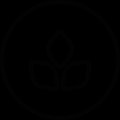Ecologic label vector logo