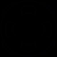 Ring buoy, IOS 7 interface symbol vector