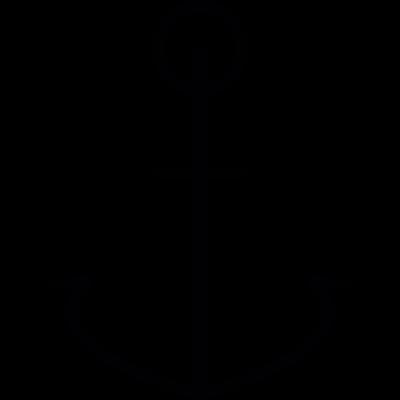 Anchor, IOS 7 interface symbol vector logo