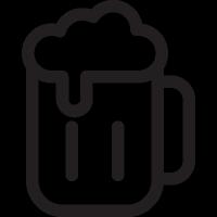 Jar of Beer vector