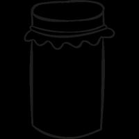 Mermelade Tin vector