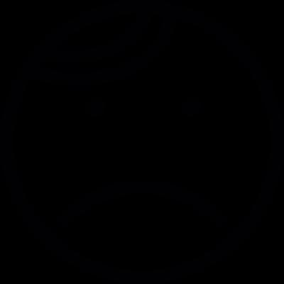 Sad vector logo