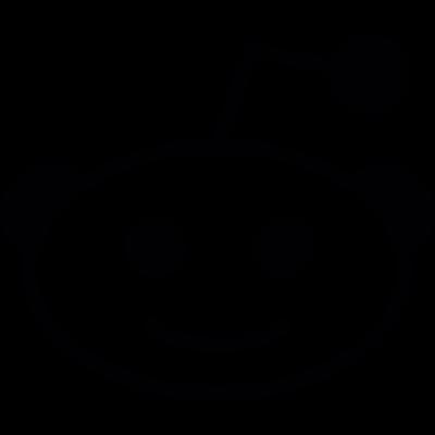 Reddit social Logo vector logo
