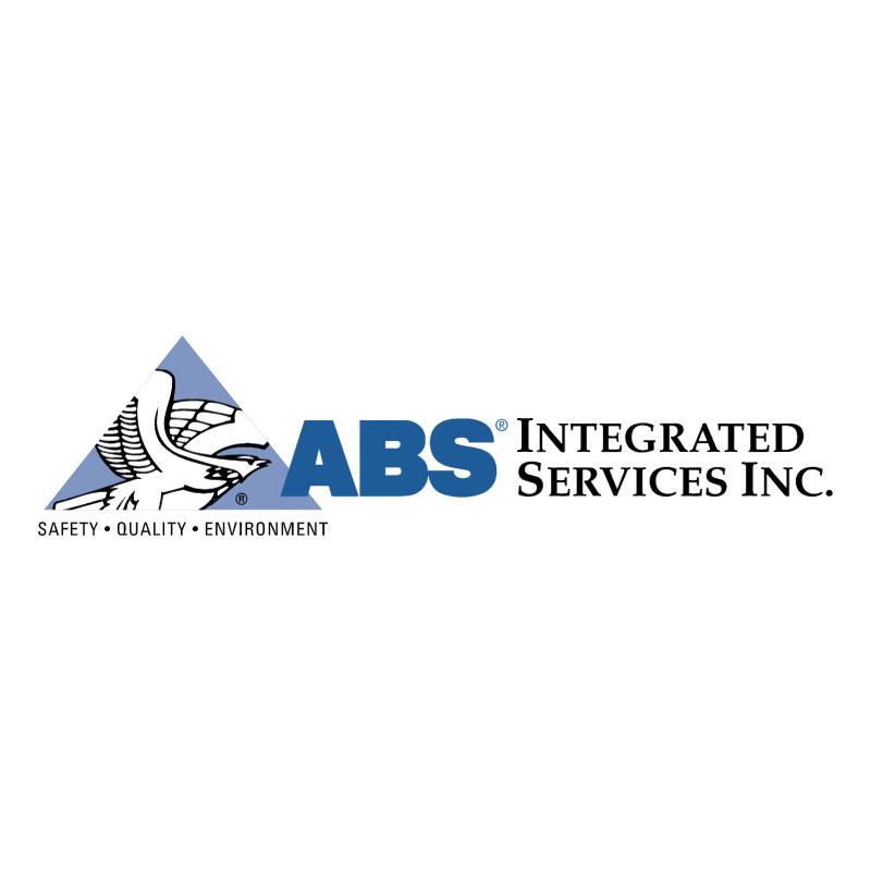 ABS Integrates Services 52268 vector logo