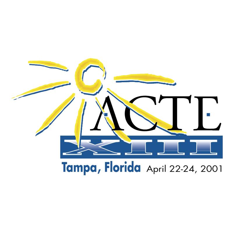 ACTE XIII Tampa vector logo