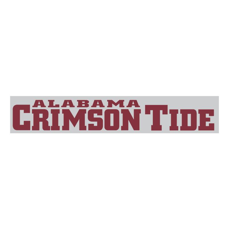 Alabama Crimson Tide 75967 vector