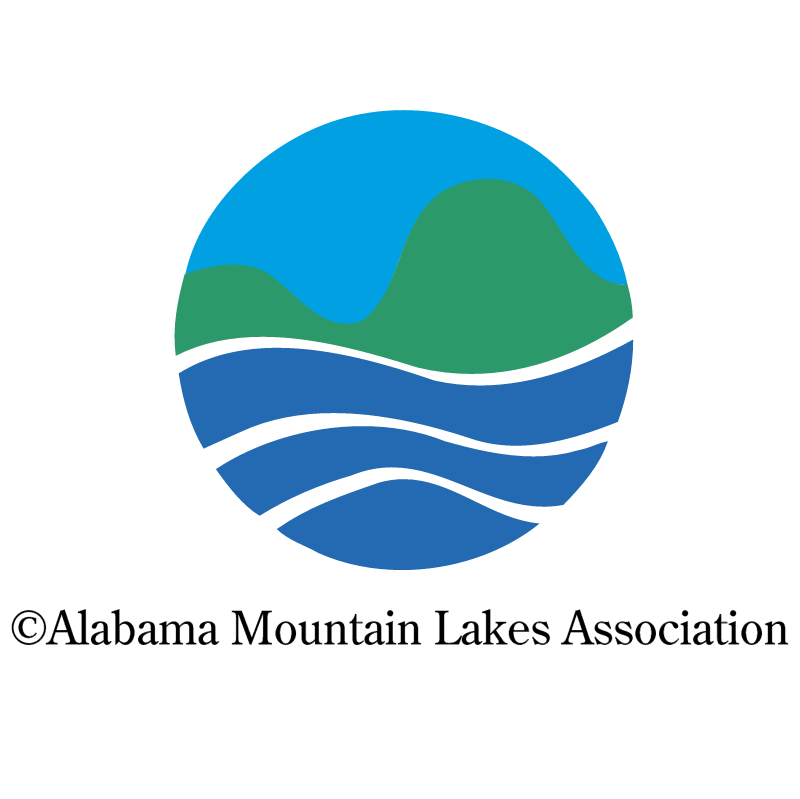 Alabama Mountain Lakes Association 25900 vector