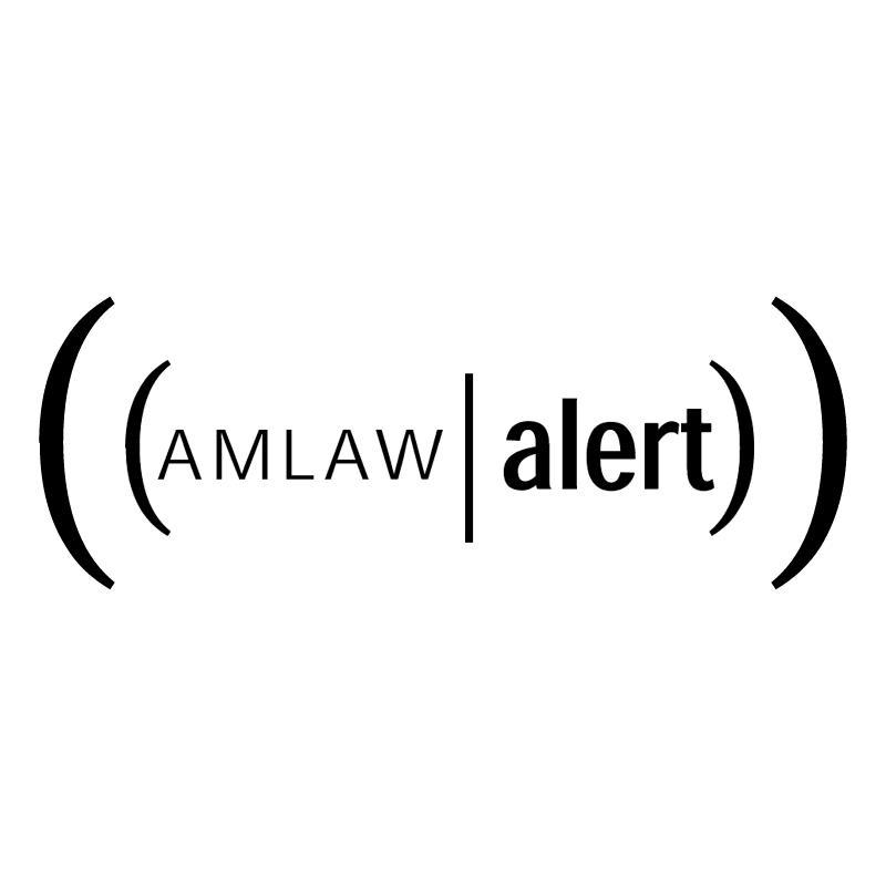Amlaw Alert vector
