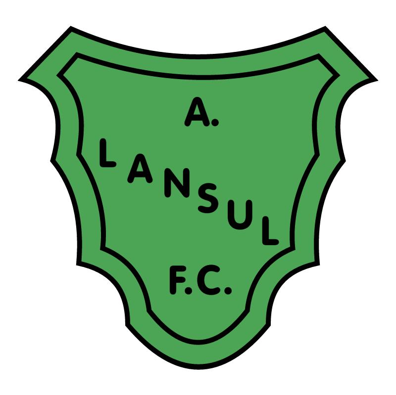 Atletico Lansul Futebol Clube de Esteio RS 84782 vector