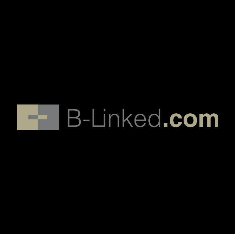 B Linked vector logo