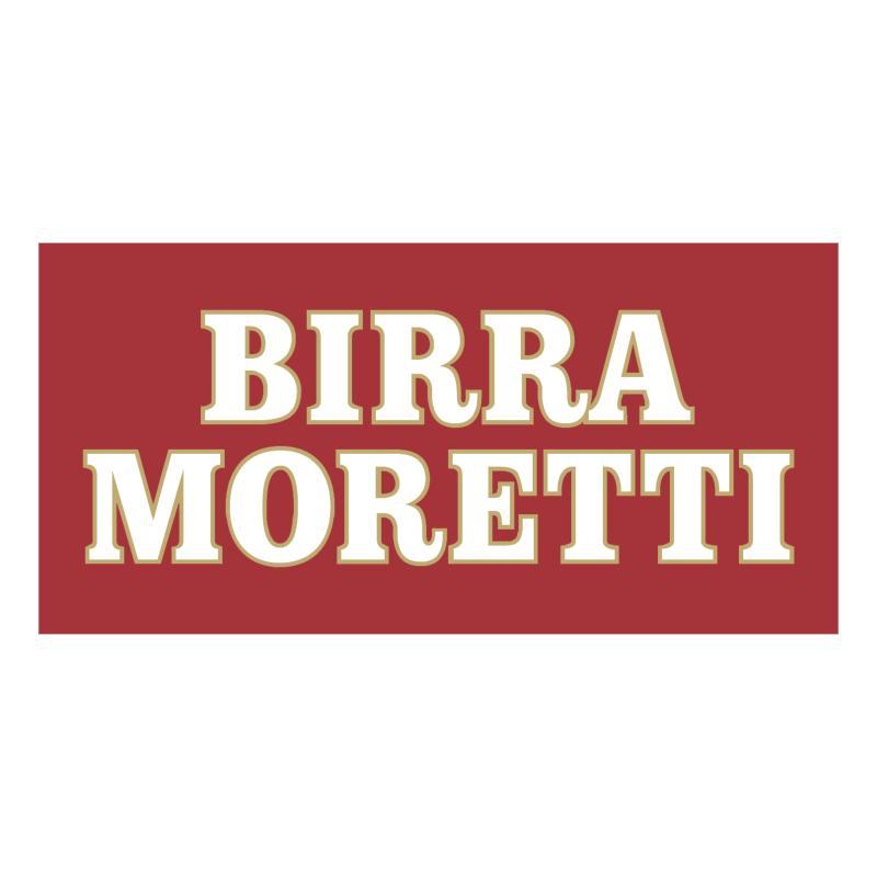Birra Moretti vector