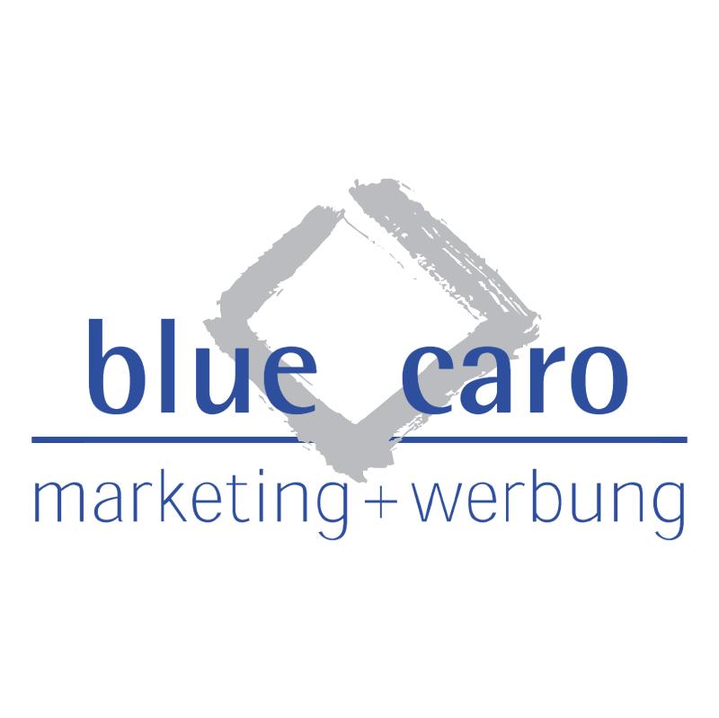Blue Caro vector