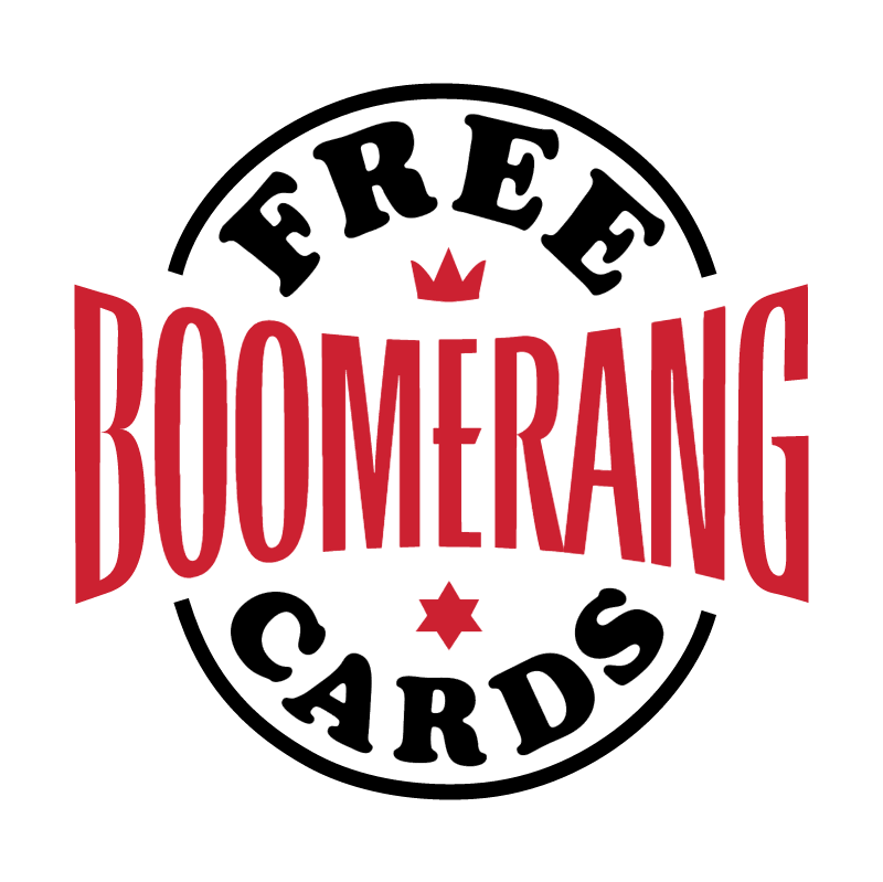 Boomerang 62687 vector