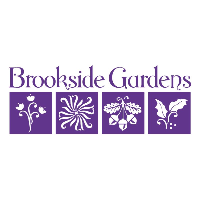 Brookside Gardens vector logo