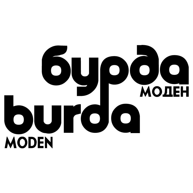 Burda Moden vector logo