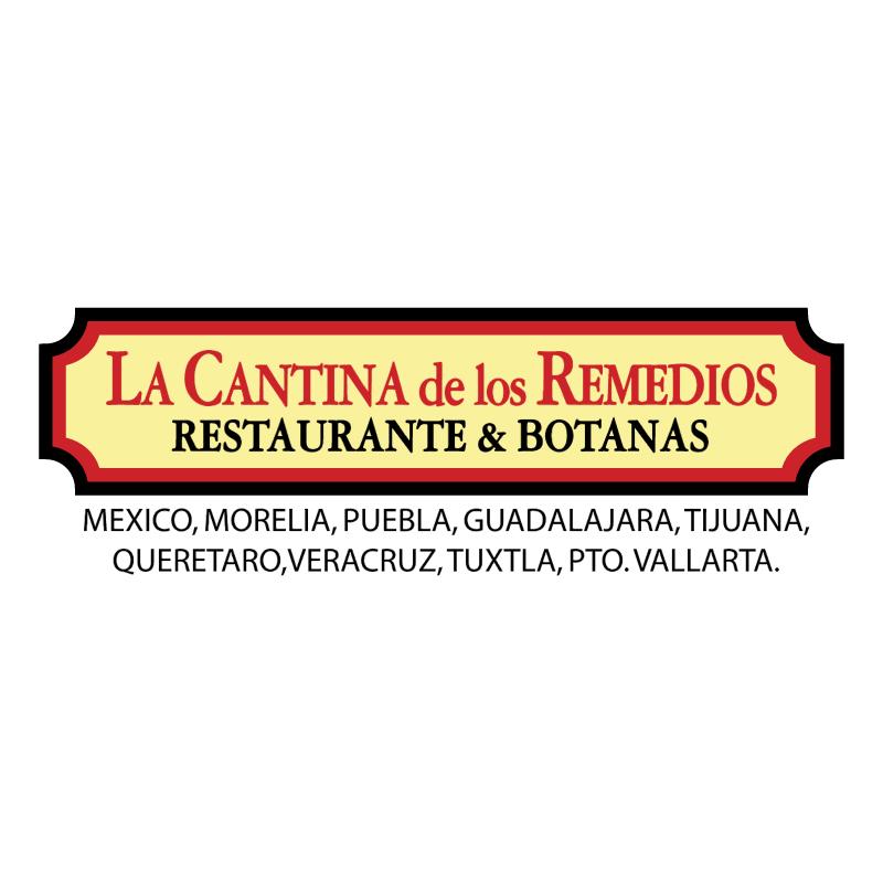 Cantina de los remedios vector logo