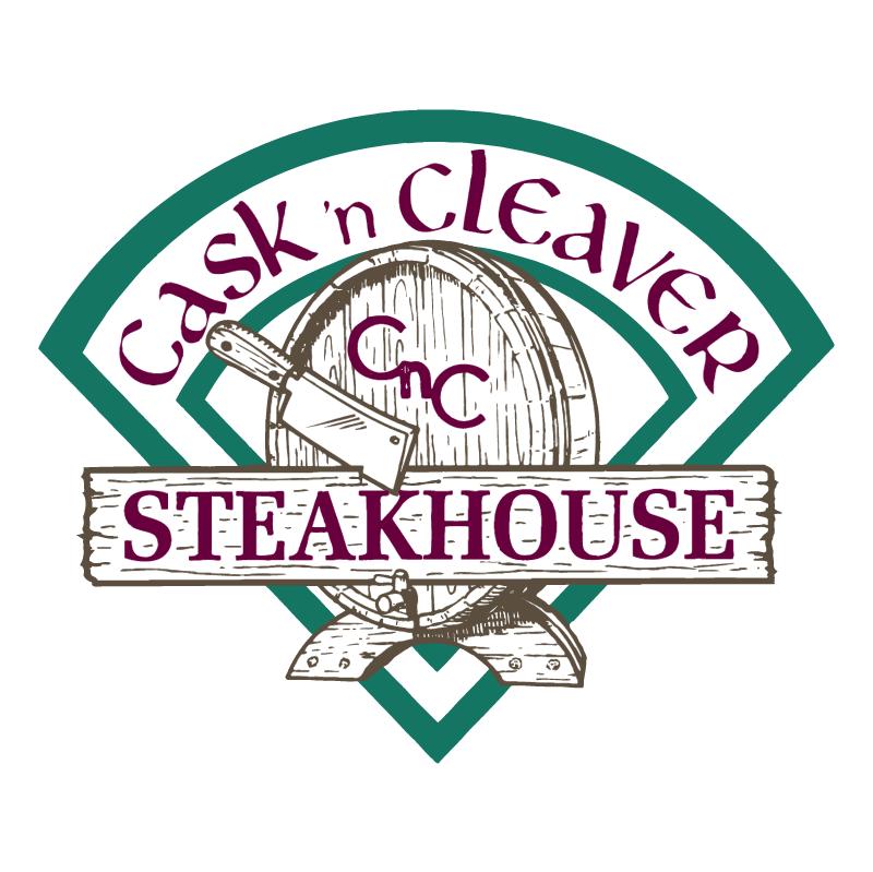 Cask 'n Cleaver vector logo