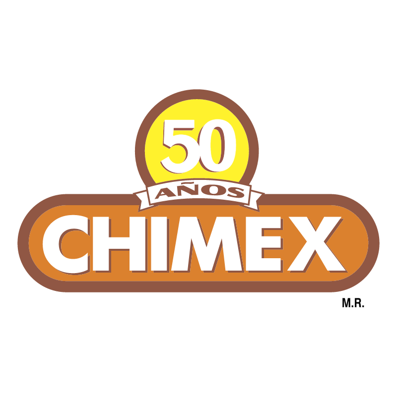 Chimex 50 Anos vector