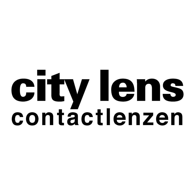 City Lens vector logo