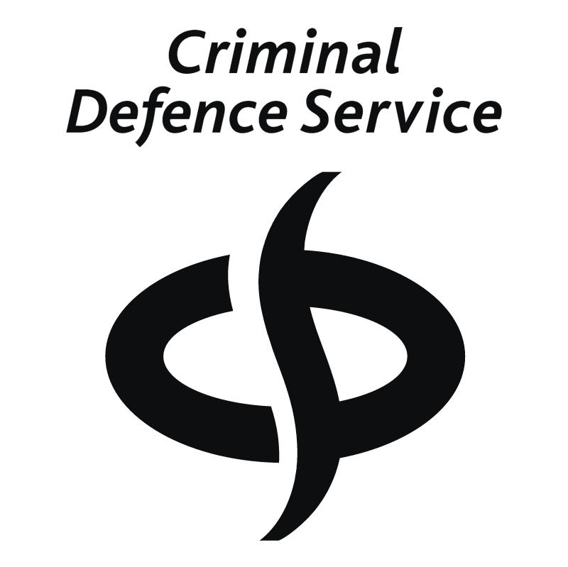 Criminal Defence Service vector