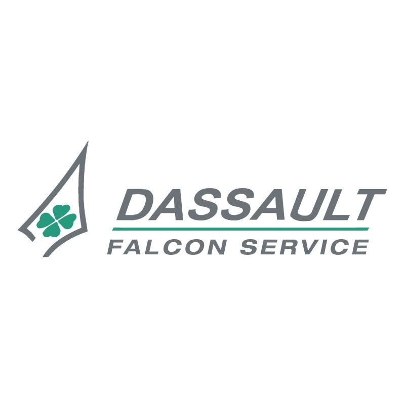Dassault Falcon Service vector