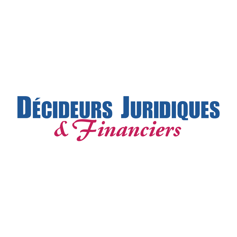Decideurs Juridiques & Financiers vector