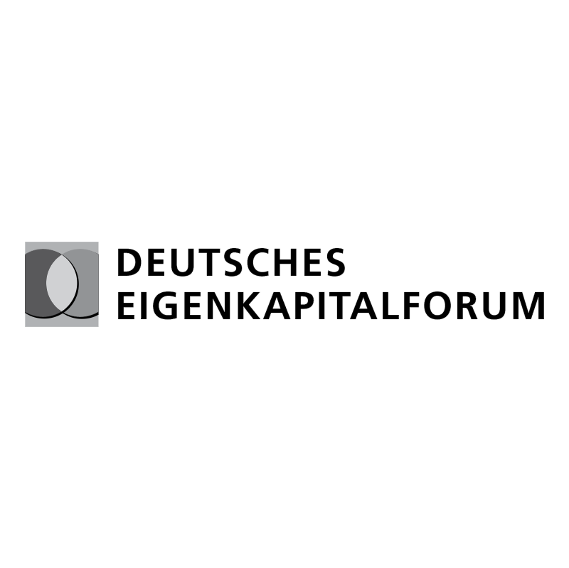 Deutsches Eigenkapitalforum vector
