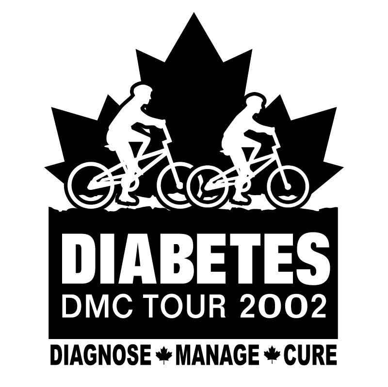 Diabetes DMC Tour vector