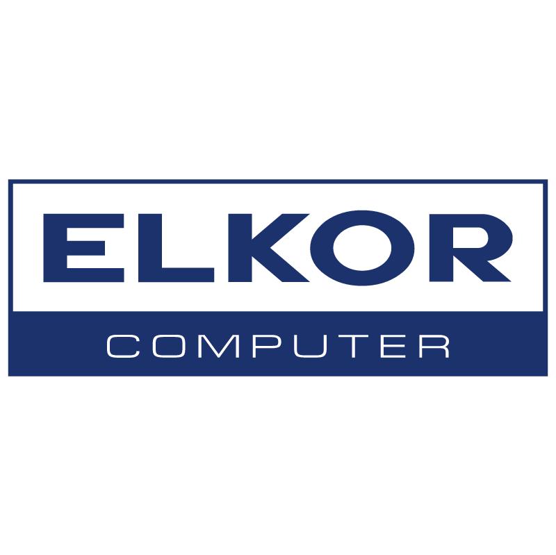 Elkor Computer vector logo