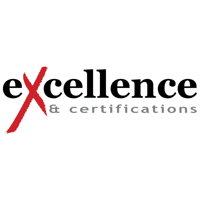 Excellence & Certifications vector logo