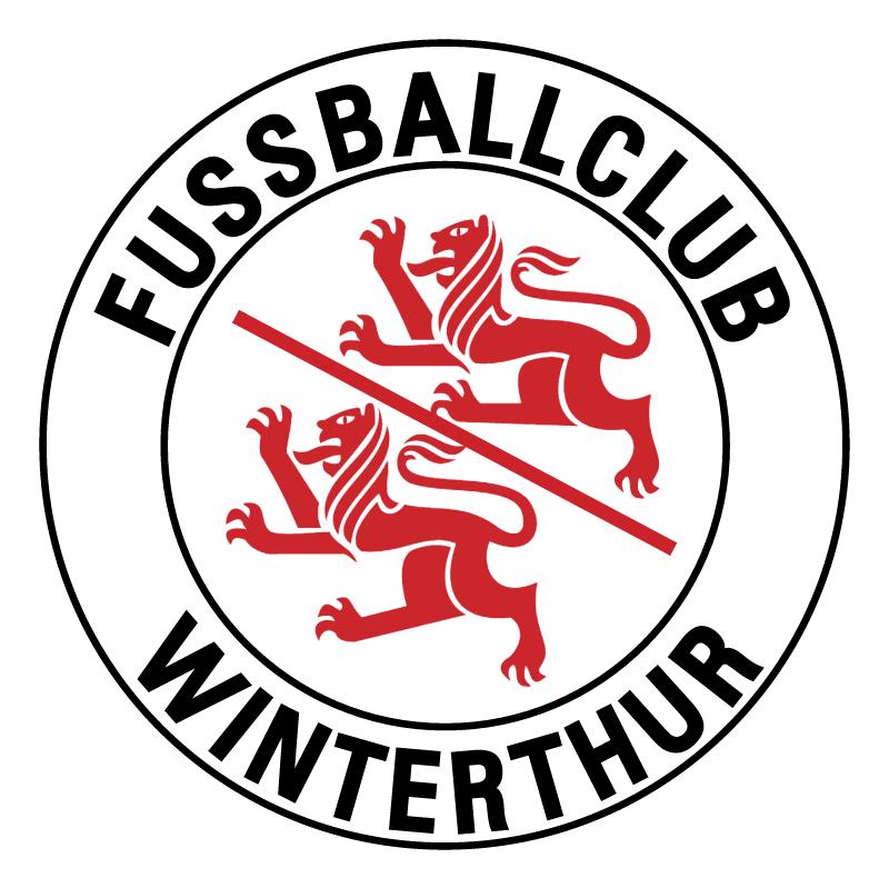 Fussballclub Winterthur de Winterthur vector