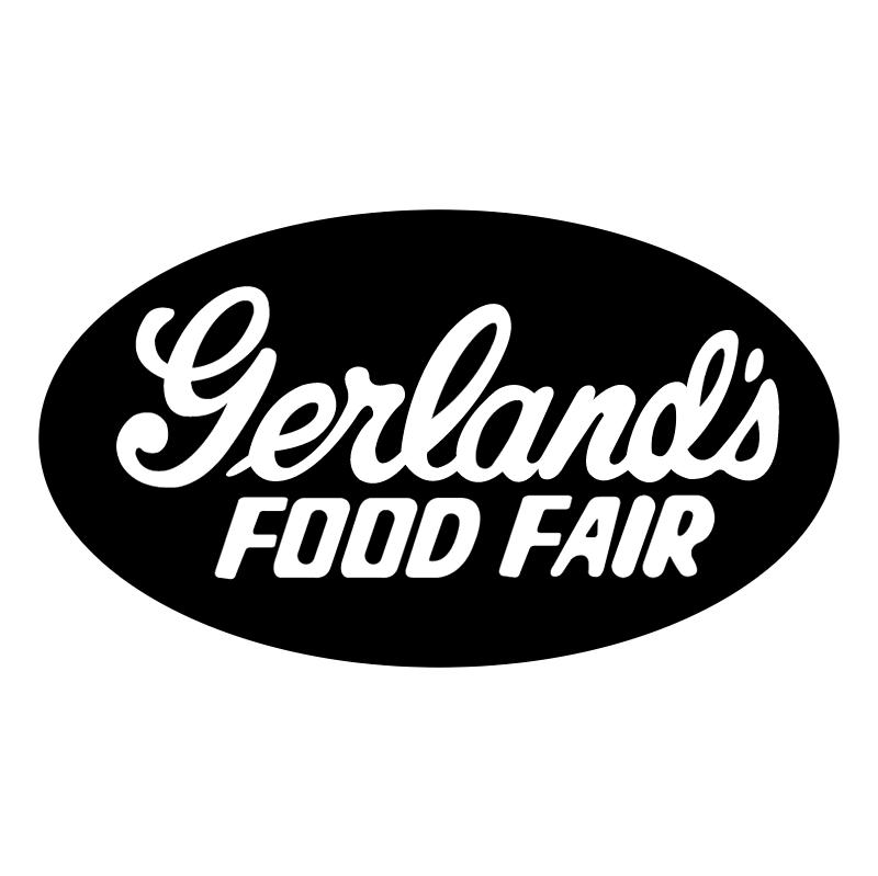 Gerland's Food Fair vector